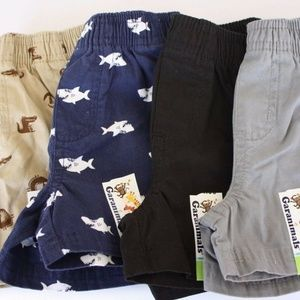 Lot of 4 Shorts 0-3 Months NWT Newborn Shorts